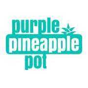 Purple Pineapple Pot