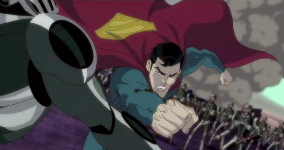 Captura del trailer de Superman: Unbound (2013)