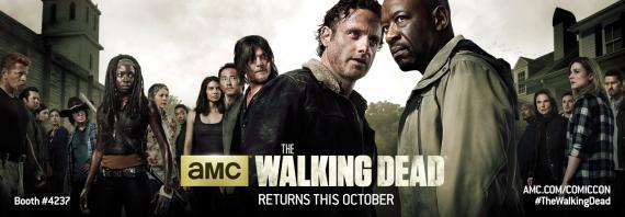 Primer banner de la sexta temporada de The Walking Dead