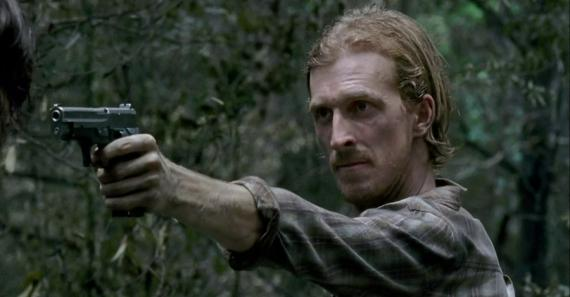 Austin Amelio es Dwight en The Walking Dead