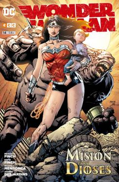 Portada de Wonder Woman núm. 14