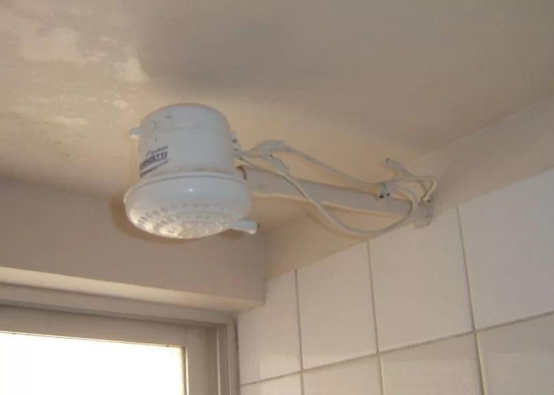 El terror a las duchas electricas
