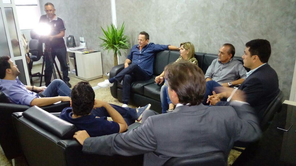 Durante visita a CMJP, Wilson Filho convida Marcos Vinicius para se filiar ao PTB