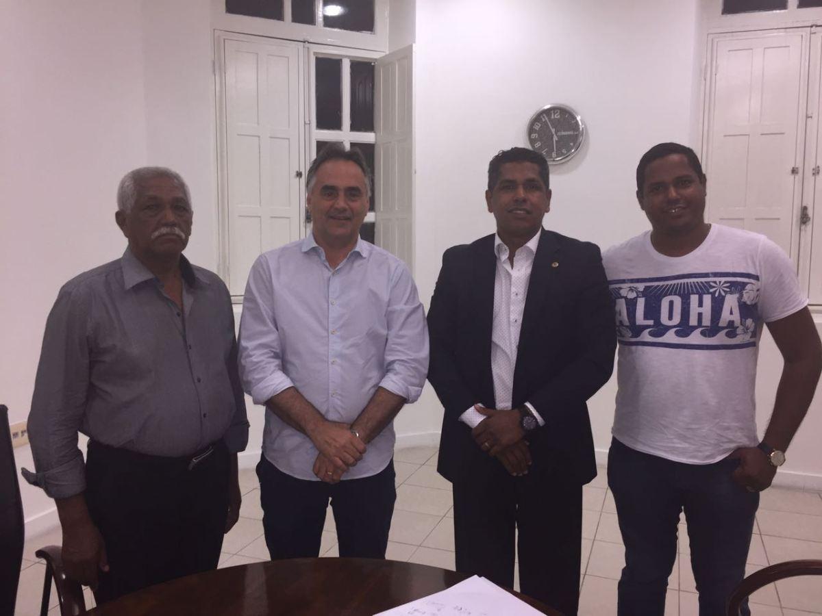 Oficial: Após reunião com prefeito,  João dos Santos oficiaiza apoio a Cartaxo