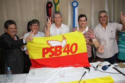 Eleições 2018: PSB realiza encontro estadual neste sábado em João Pessoa