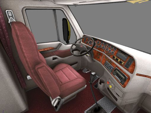 Interior do Peterbilt 387