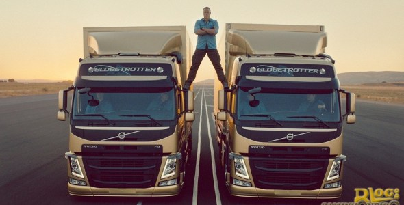 Jean-Claude Van Damme - The Epic Split - Volvo FM (1)