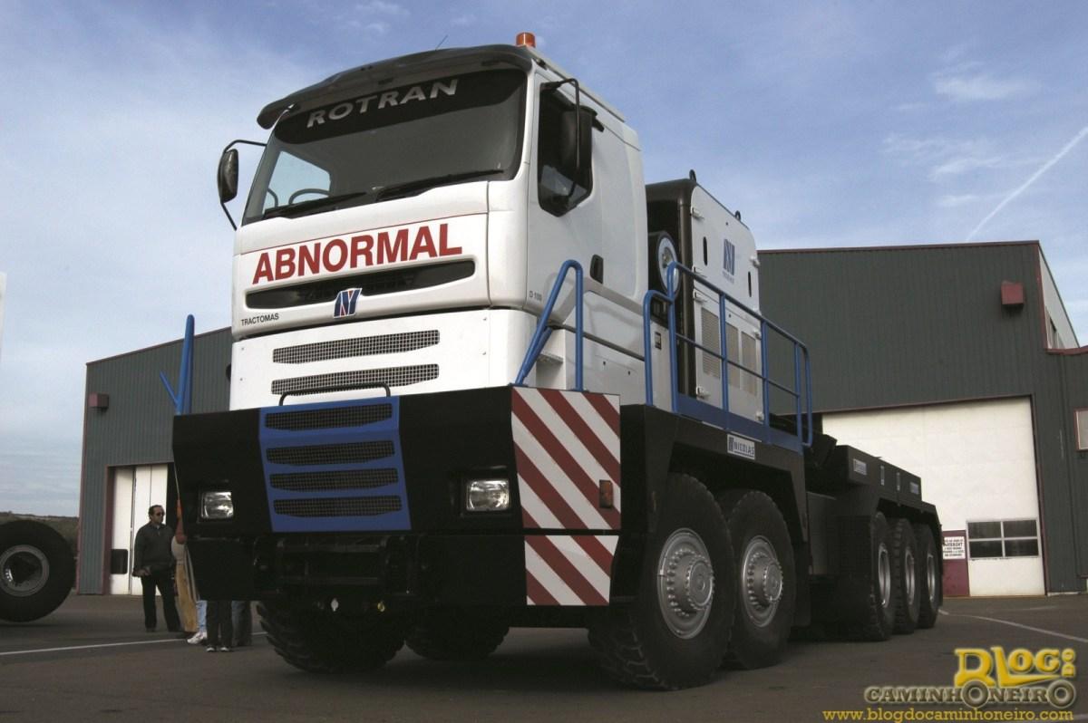 Nicolas Tractomas - O maior caminhão rodoviário do mundo