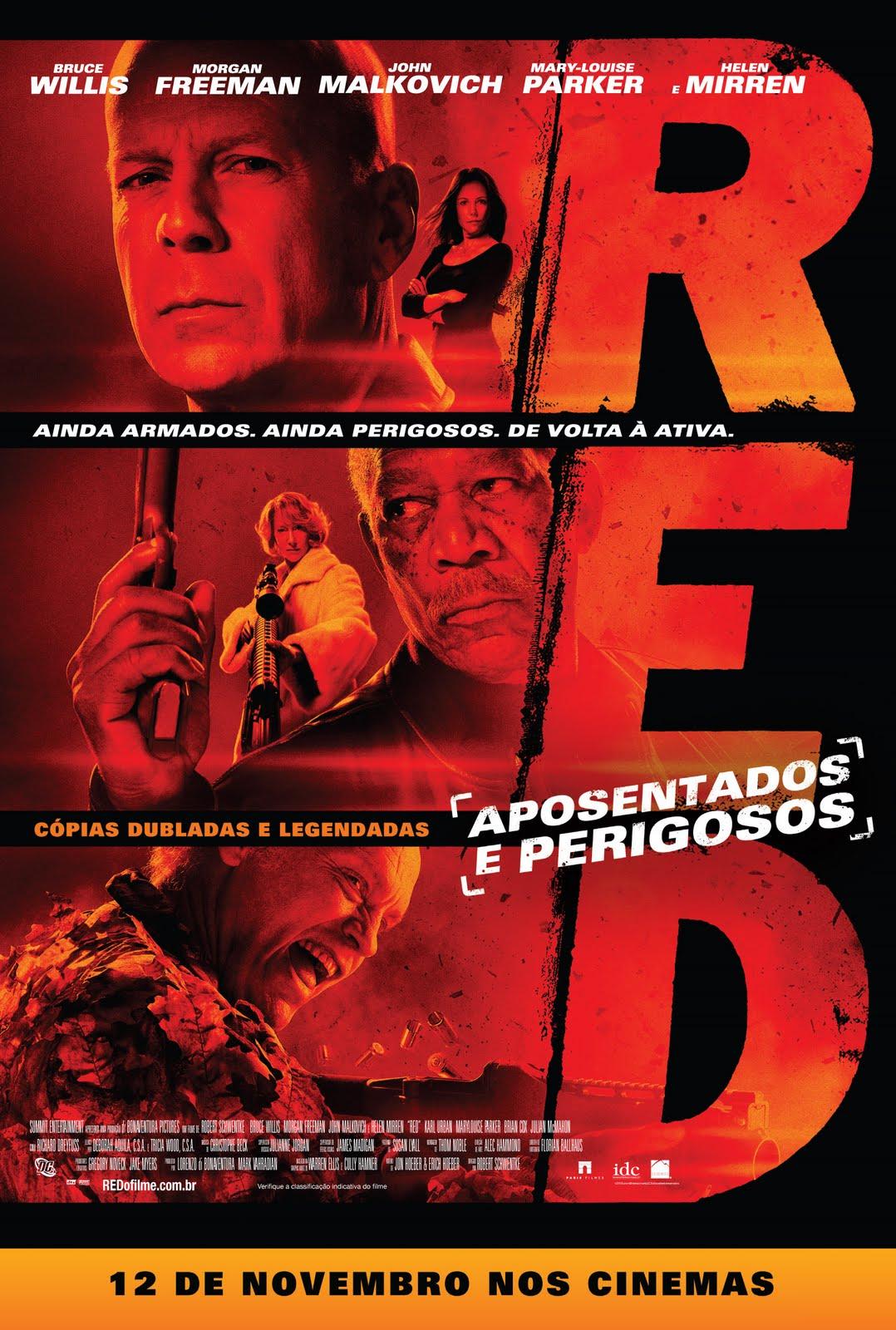 Poster do filme Red - Aposentados e Perigosos