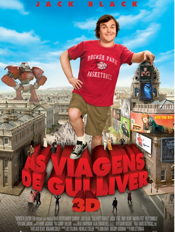 Poster do filme As Viagens de Gulliver