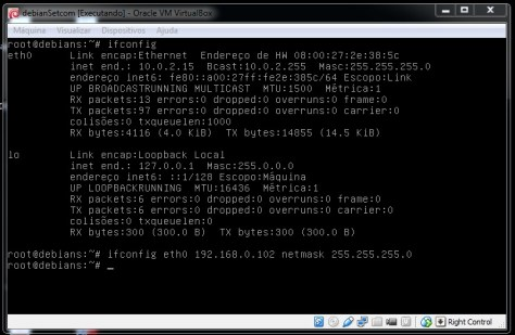 Debian Configurando Interface