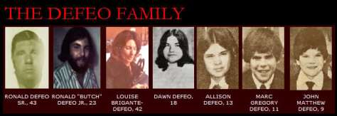 Família DeFeo - Fonte: http://www.warrens.net/family.jpg