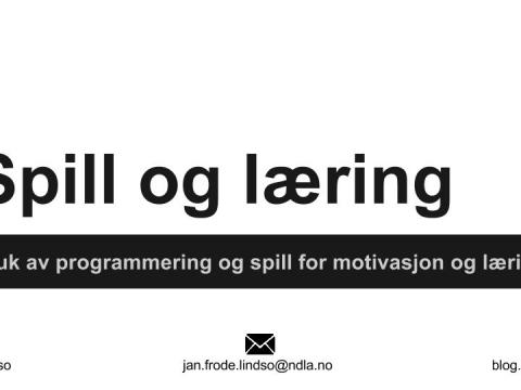 Spill og læring