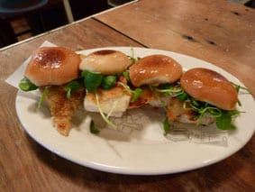 Turbot sliders