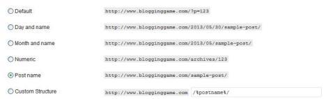 Blogger Vs WordPress- Permalink Structure of Blogger