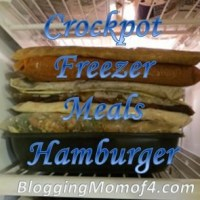 Crockpot Freezer Meals Hamburger