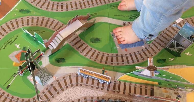 Thomas' Big Pop-Up Journey | review and competition