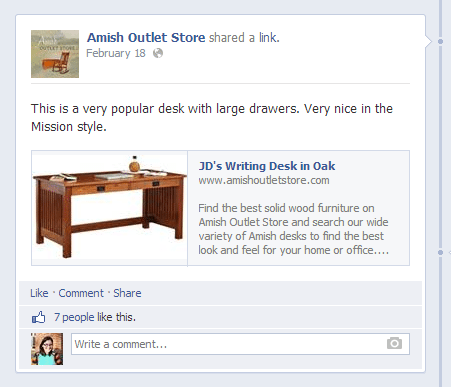amish-outlet-facebook