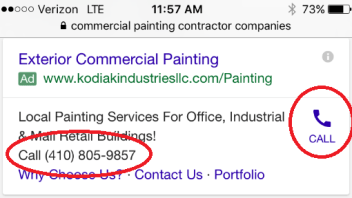 4 Important Google Adwords Extensions for Painting Contractors – Boost Click Thru Rates!
