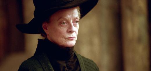 BlogHogwarts - Minerva McGonagall