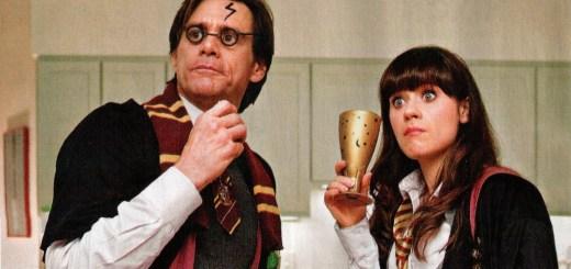 Jim Carrey como Harry Potter en Yes Man
