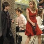 Harry Potter (Daniel Radcliffe) y Hermione Granger (Emma Watson)