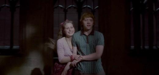 Jessie Cave y Rupert Grint