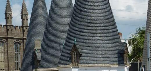 Parque Temático de Harry Potter ¿Parte del Castillo de Hogwarts?