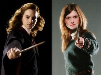Hermione Granger y Ginny Weasley