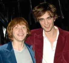 Rupert Grint y Robert Pattinson