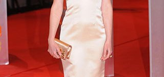 Bonnie Wright de blanco
