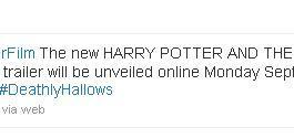 Harry Potter 7 Trailer Rumor