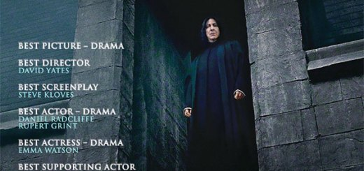 harry potter oscar 2012