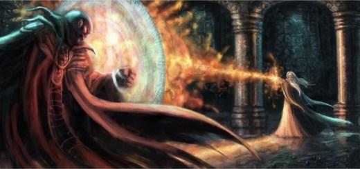 Harry Potter BlogHogwarts Dummbledore vs Voldemort