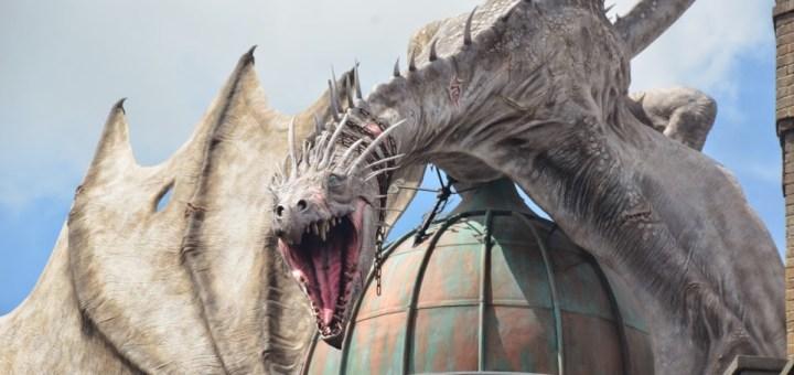 Dragón Gringotts Parque