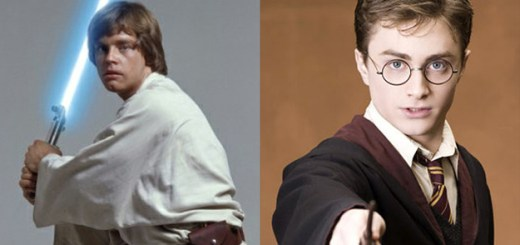 harry potter luke skywalker