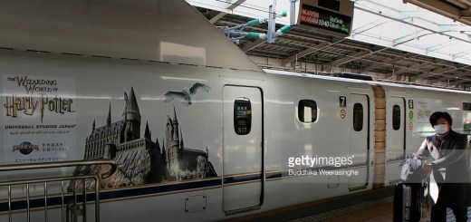tren harry potter japon