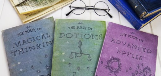 cuadernos potter vintage