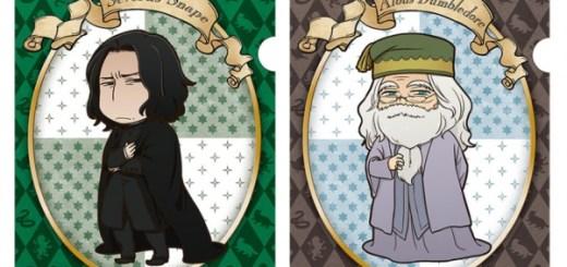 snape dumbledore anime