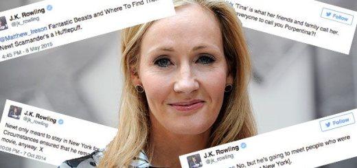 Harry Potter BlogHogwarts JK Rowling Twitter