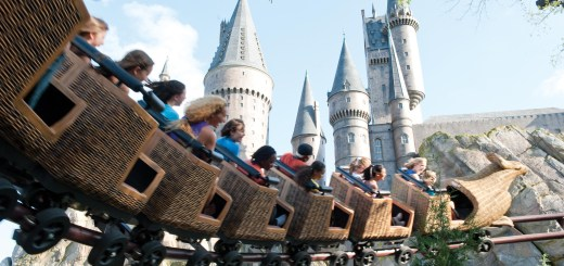 Harry Potter HP Wizarding World of Harry Potter WWoHP, Hogwarts Castle, Hogsmeade village Advertising shoot Islands of Adventure IOA Models