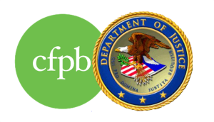 Consumer Financial Protection Bureau Department of Justice
