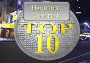FHA Top 10 Handbook concerns