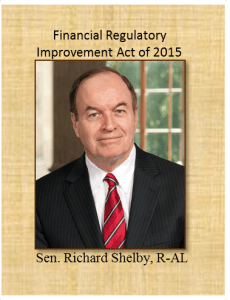 Senator Shelby Financial Regulatory Improvement Act of 2015