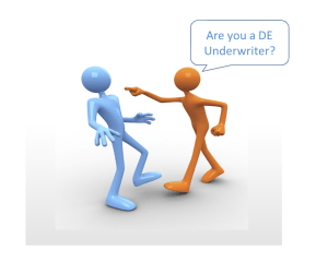 DE-Direct-Endorsement-Underwriter