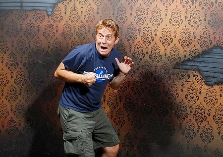 Fotos de pessoas assustadas
