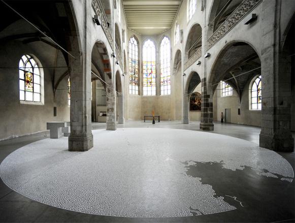 Fazendo arte com sal refinado