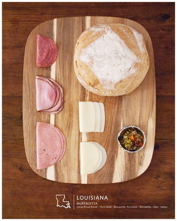 Stately Sandwiches: Os sanduíches típicos de cada estado americano