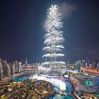 O maravilhoso show de fogos de artifício do reveillon de Dubai