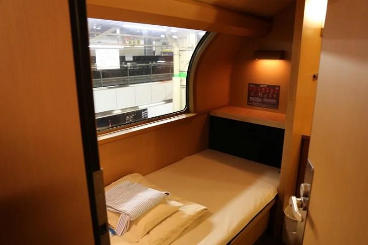 サンライズエクスプレスの部屋の写真